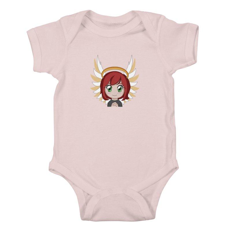 Angel Maeka Kids Baby Bodysuit by Maeka's Artist Shop