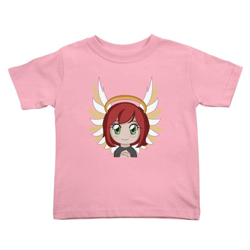 Angel Maeka Kids Toddler T-Shirt by Maeka's Artist Shop