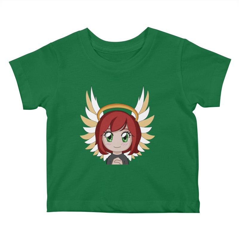 Angel Maeka Kids Baby T-Shirt by Maeka's Artist Shop