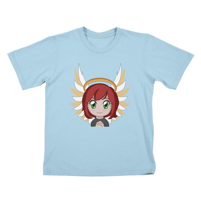 Angel Maeka Kids T-Shirt by Maeka's Artist Shop