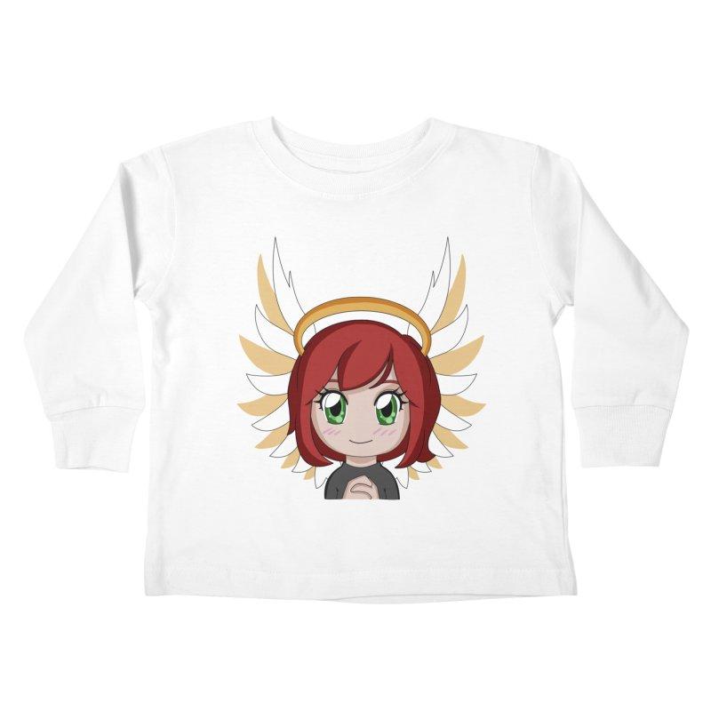 Angel Maeka Kids Toddler Longsleeve T-Shirt by Maeka's Artist Shop