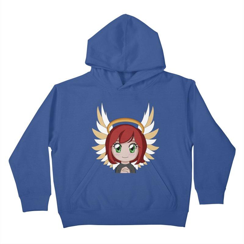Angel Maeka Kids Pullover Hoody by Maeka's Artist Shop