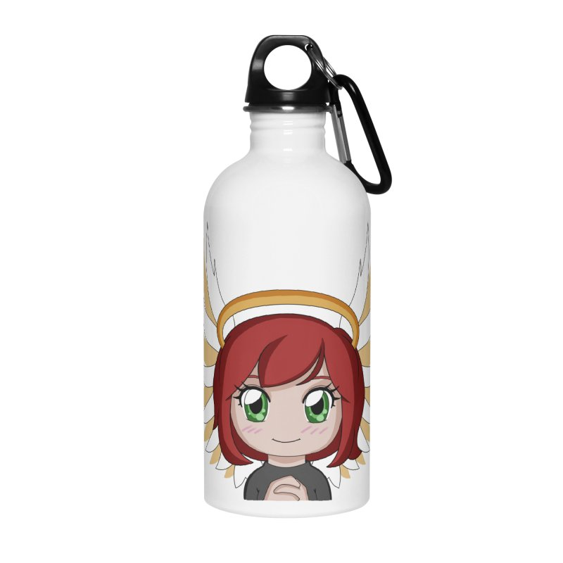 Angel Maeka Accessories Water Bottle by Maeka's Artist Shop