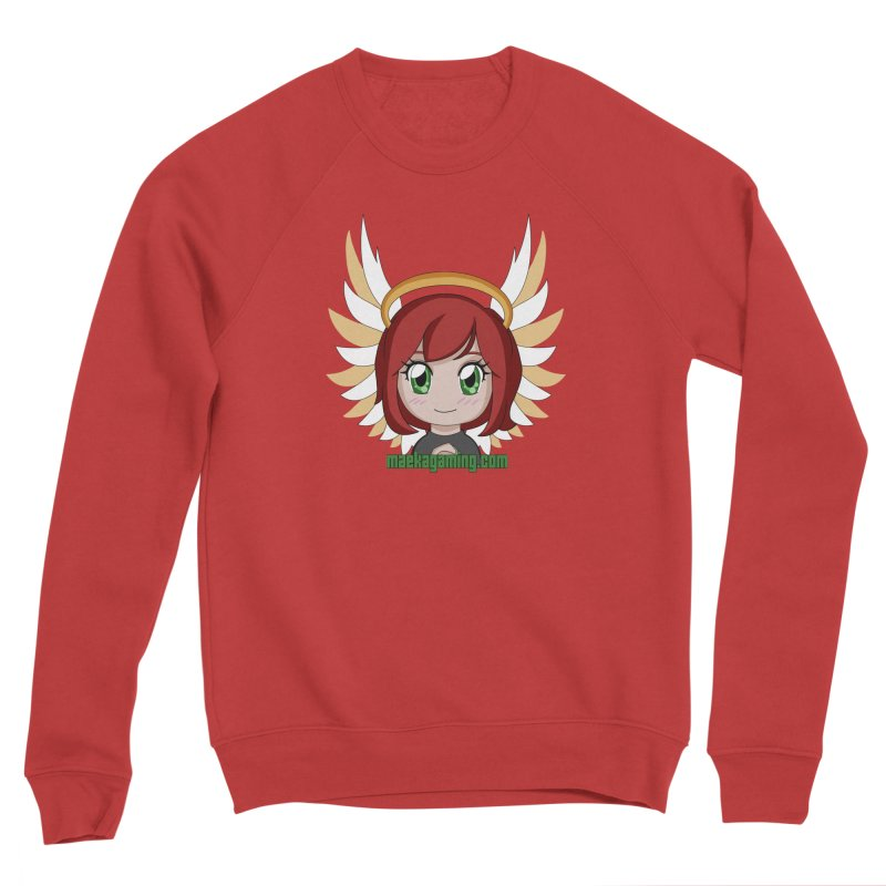 Angel Maeka Men's Sponge Fleece Sweatshirt by Maeka's Artist Shop