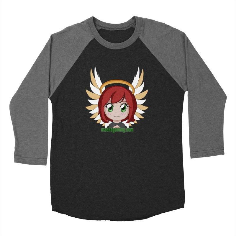 Angel Maeka Men's Baseball Triblend Longsleeve T-Shirt by Maeka's Artist Shop