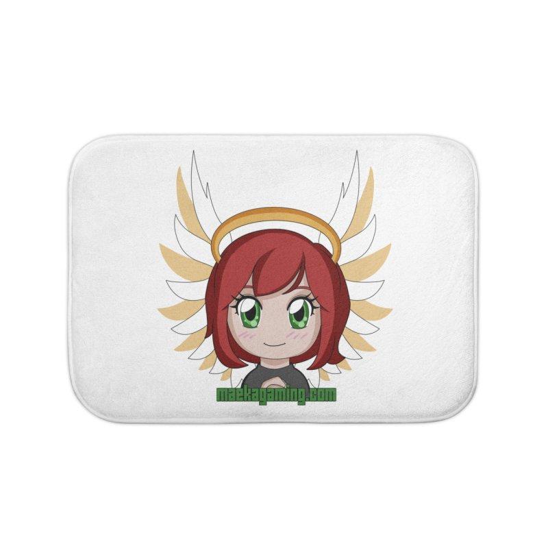 Angel Maeka Home Bath Mat by Maeka's Artist Shop