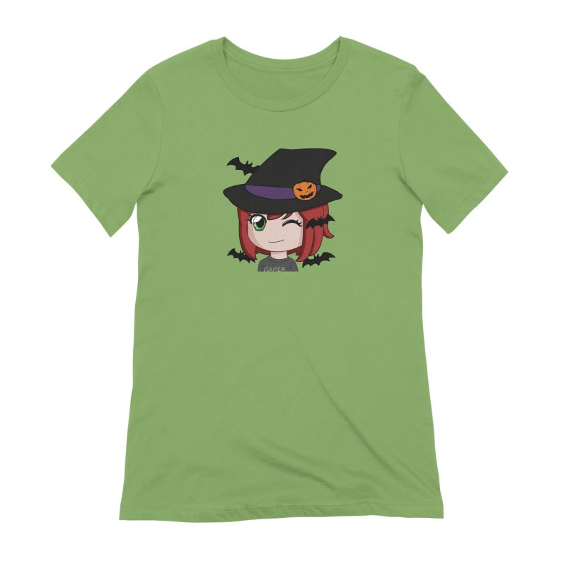 Witchy Maeka Women's Extra Soft T-Shirt by Maeka's Artist Shop