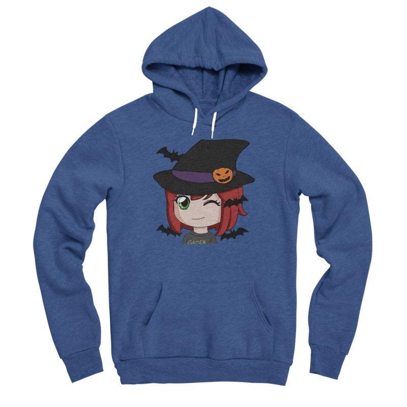 Witchy Maeka Men's Sponge Fleece Pullover Hoody by Maeka's Artist Shop