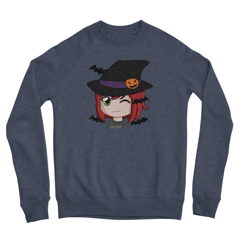 Witchy Maeka Women's Sponge Fleece Sweatshirt by Maeka's Artist Shop
