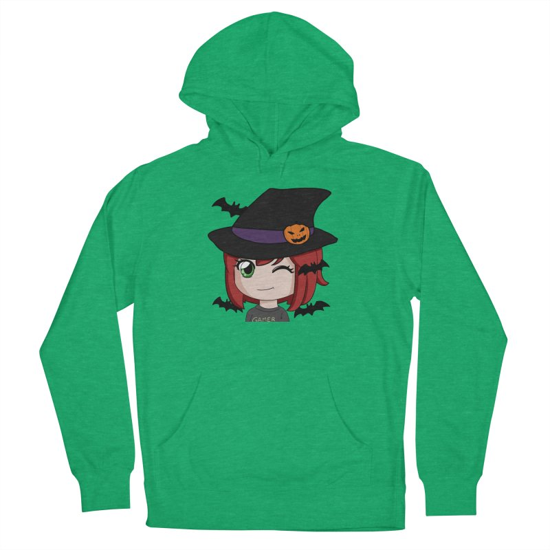 Witchy Maeka Women's French Terry Pullover Hoody by Maeka's Artist Shop