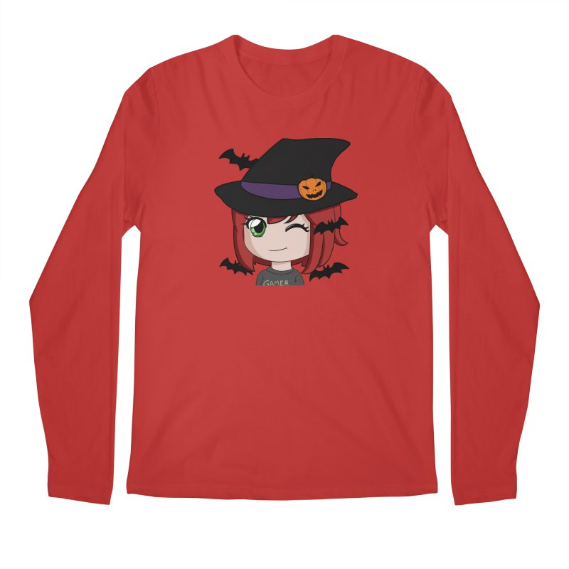 Witchy Maeka Men's Regular Longsleeve T-Shirt by Maeka's Artist Shop