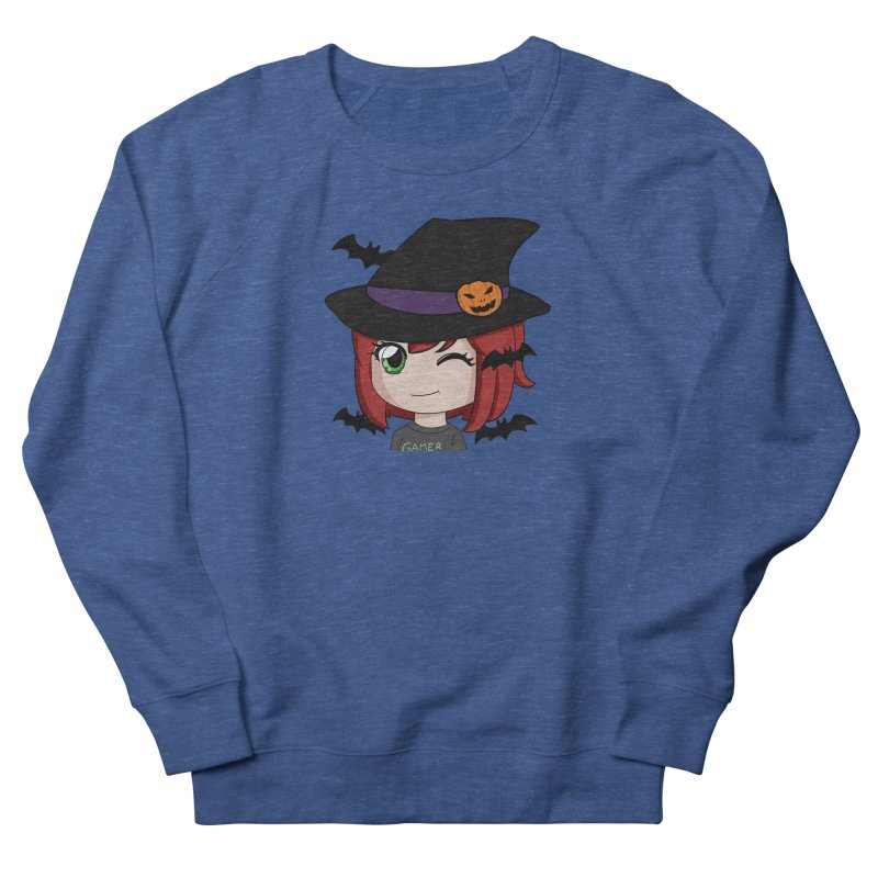 Witchy Maeka Women's French Terry Sweatshirt by Maeka's Artist Shop