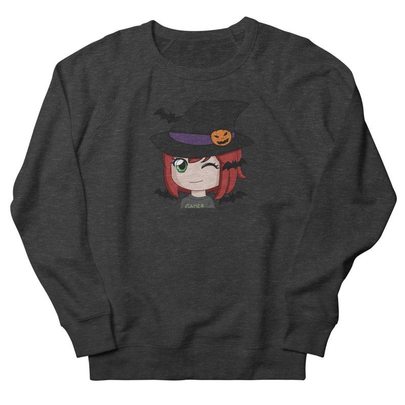 Witchy Maeka Men's French Terry Sweatshirt by Maeka's Artist Shop
