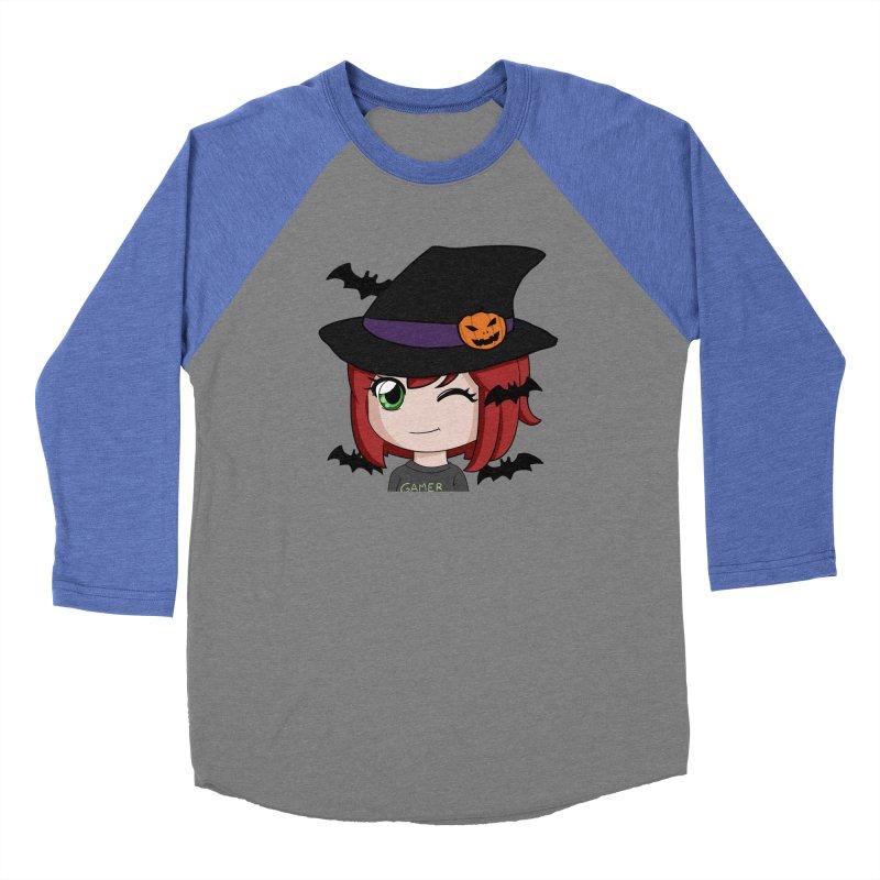Witchy Maeka Women's Baseball Triblend Longsleeve T-Shirt by Maeka's Artist Shop