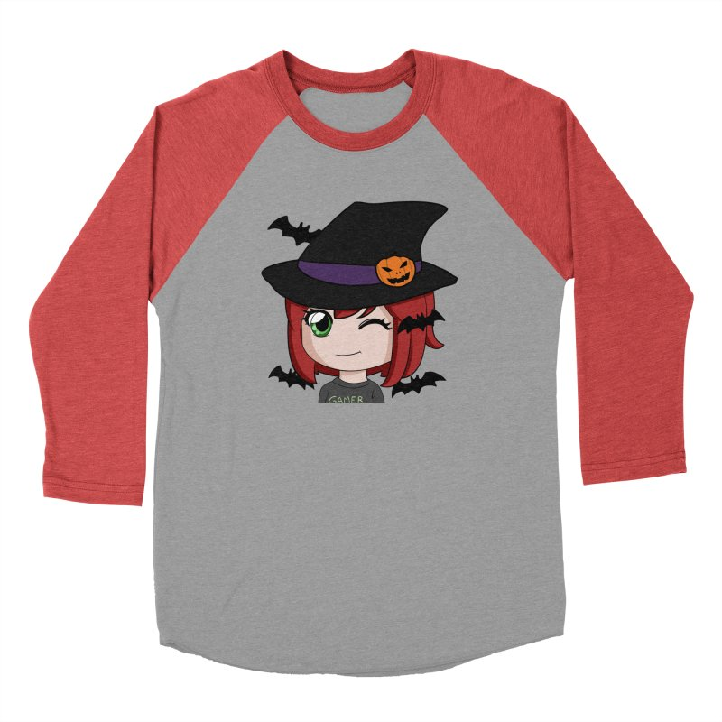 Witchy Maeka Men's Baseball Triblend Longsleeve T-Shirt by Maeka's Artist Shop