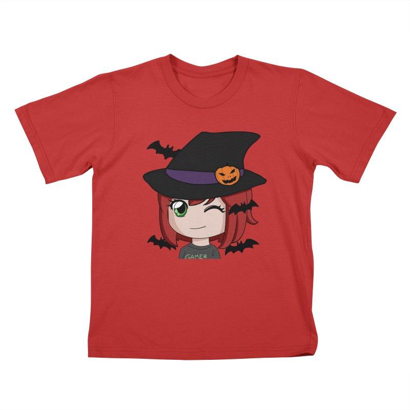 Witchy Maeka Kids T-Shirt by Maeka's Artist Shop