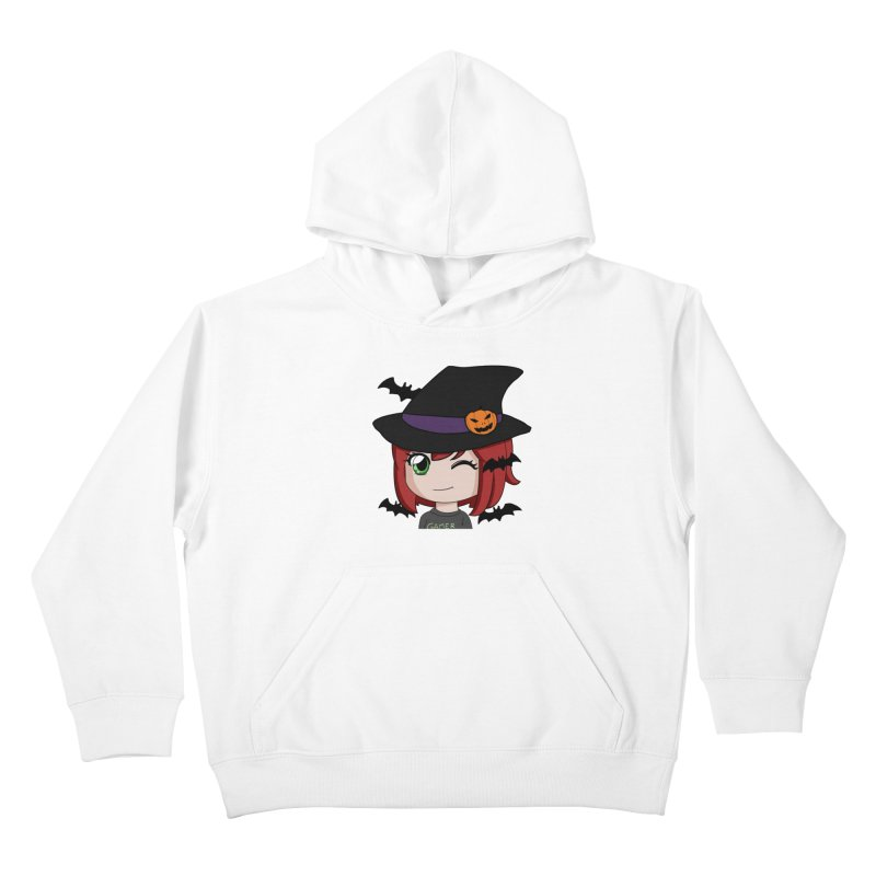 Witchy Maeka Kids Pullover Hoody by Maeka's Artist Shop