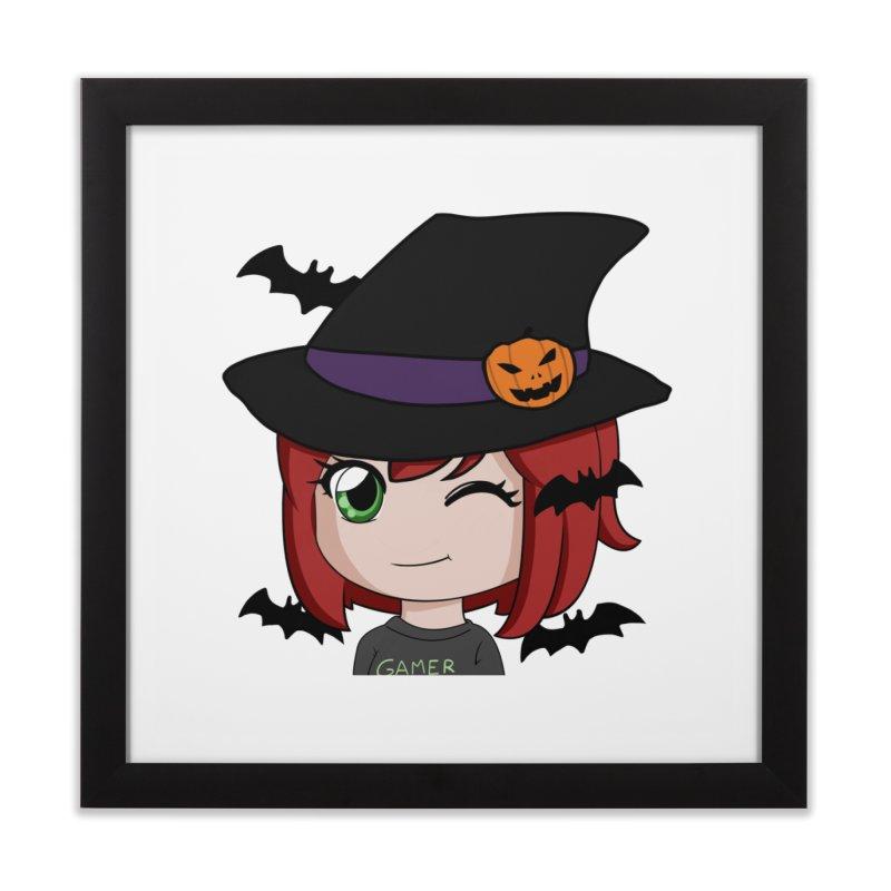 Witchy Maeka Home Framed Fine Art Print by Maeka's Artist Shop