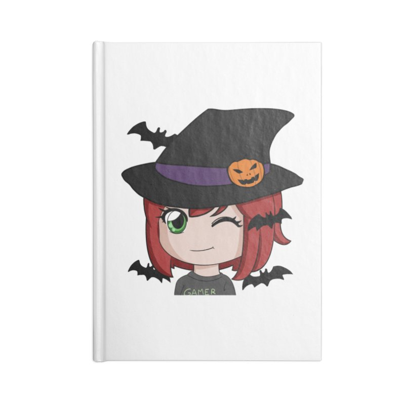 Witchy Maeka Accessories Lined Journal Notebook by Maeka's Artist Shop