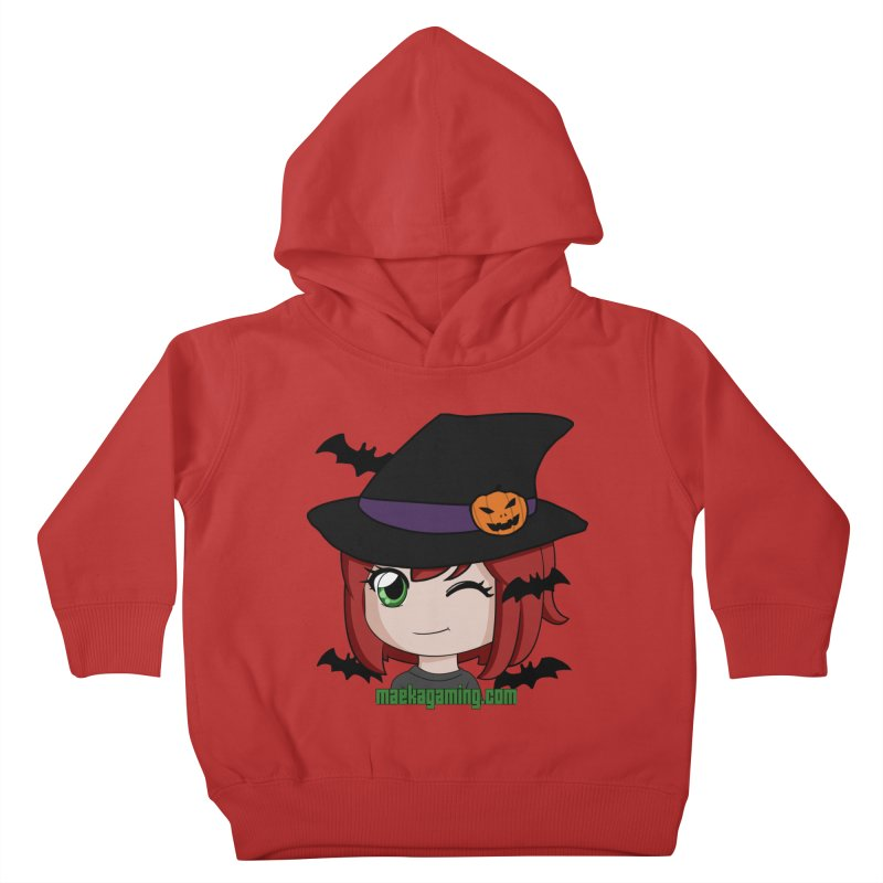 Witchy Maeka Kids Toddler Pullover Hoody by Maeka's Artist Shop