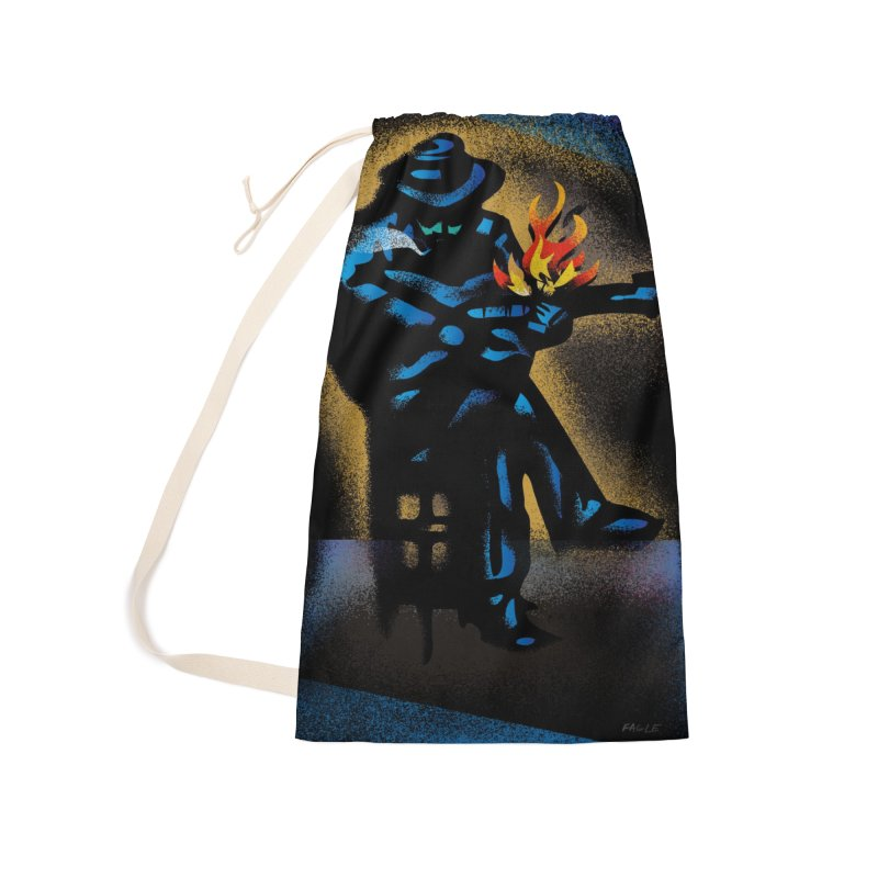 Bluesman by Russ Fagle Accessories Bag by Magichammer Art By Russ Fagle Shop