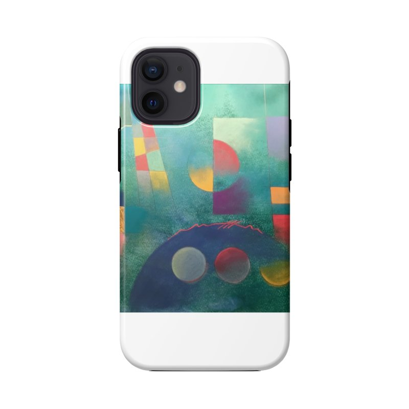 Teal Abstract by Russ Fagle Accessories Phone Case by Magichammer Art By Russ Fagle Shop