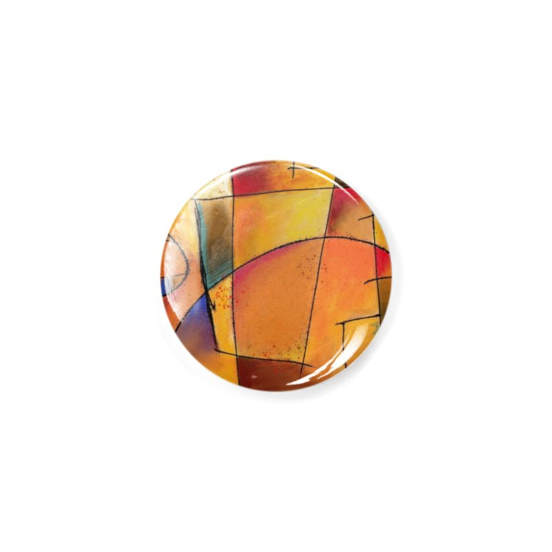 Earth Tone Abstract Accessories Button by Magichammer Art By Russ Fagle Shop