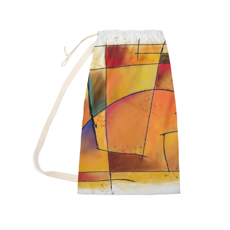 Earth Tone Abstract Accessories Bag by Magichammer Art By Russ Fagle Shop