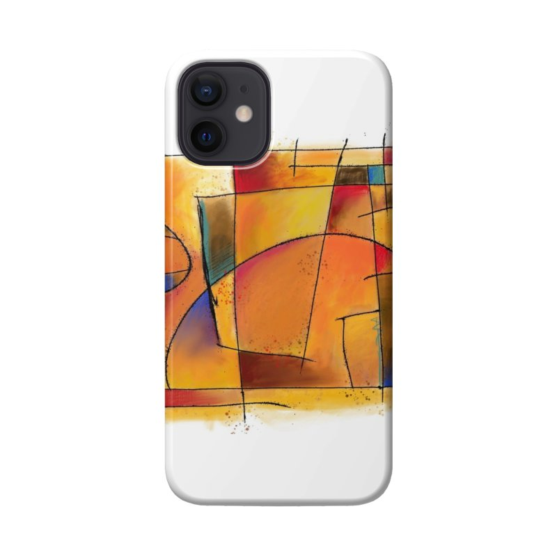 Earth Tone Abstract Accessories Phone Case by Magichammer Art By Russ Fagle Shop