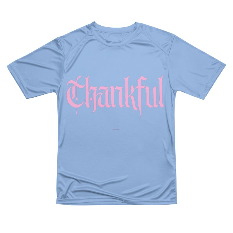 Thankful in pink Women's T-Shirt by Magichammer Art By Russ Fagle Shop