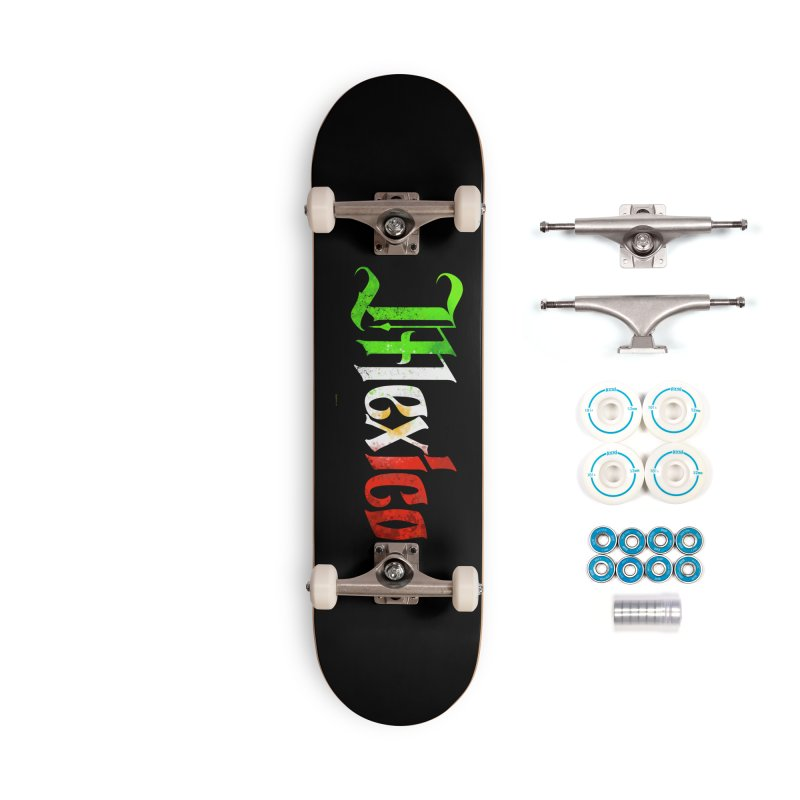 Mexico Accessories Skateboard by Magichammer Art By Russ Fagle Shop