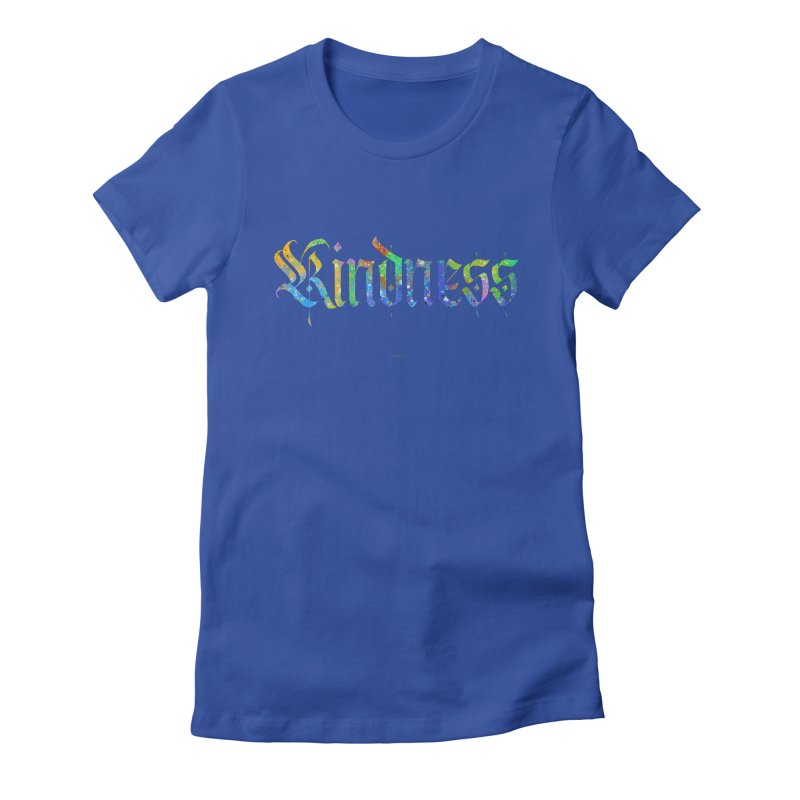 Colorful Kindness Women's T-Shirt by Magichammer Art By Russ Fagle Shop