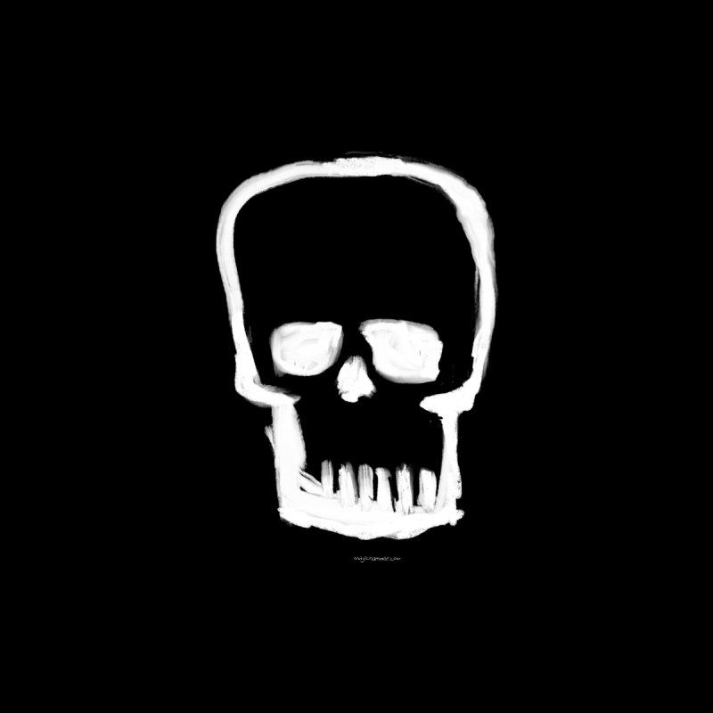 Brushed Skull Women's Sweatshirt by Magichammer Art By Russ Fagle Shop