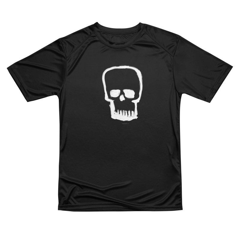 Brushed Skull Men's T-Shirt by Magichammer Art By Russ Fagle Shop