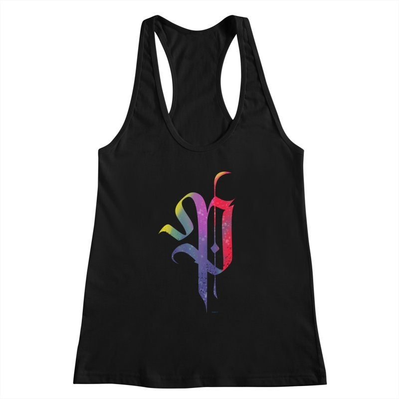 Color Letter P Women's Tank by Magichammer Art By Russ Fagle Shop
