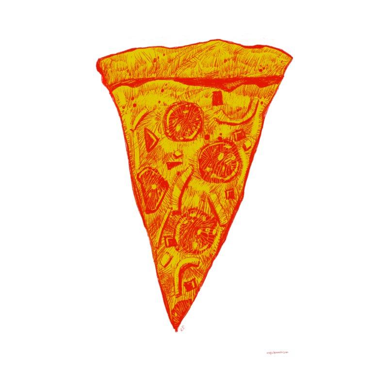 Pop Art Pizza Men's T-Shirt by Magichammer Art By Russ Fagle Shop