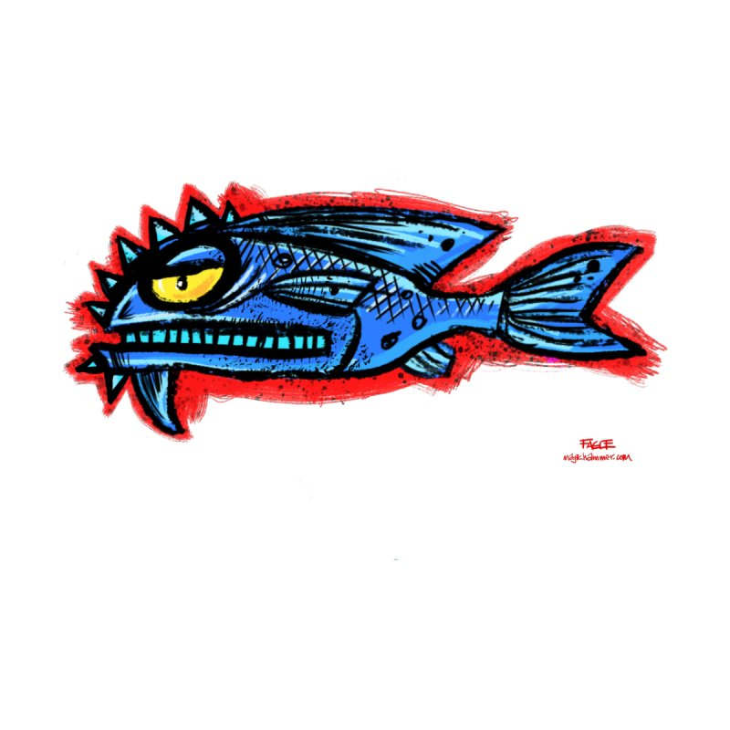 Bluefish Men's T-Shirt by Magichammer Art By Russ Fagle Shop