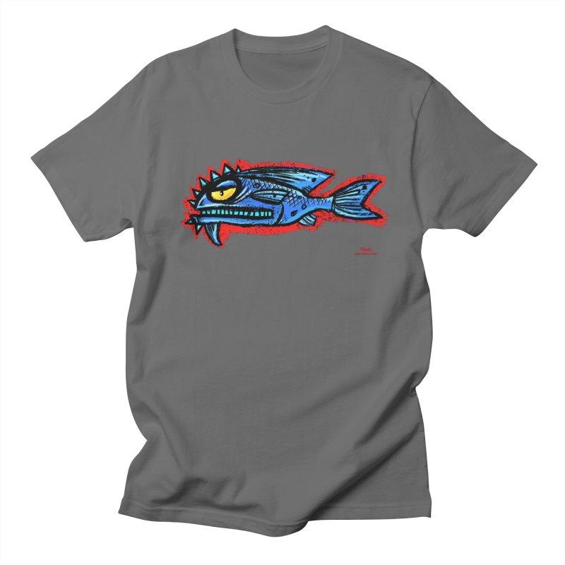 Bluefish Men's T-Shirt by Magichammer Art By Russ Fagle Shop