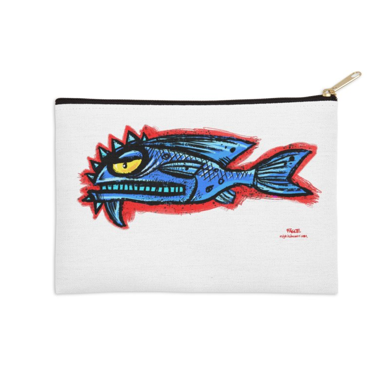 Bluefish Accessories Zip Pouch by Magichammer Art By Russ Fagle Shop