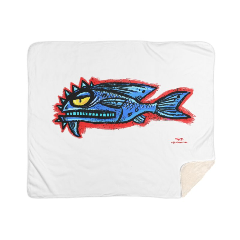 Bluefish Home Blanket by Magichammer Art By Russ Fagle Shop