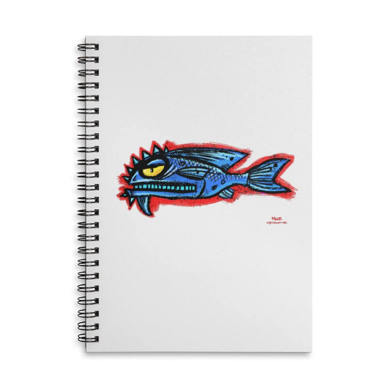 Bluefish Accessories Notebook by Magichammer Art By Russ Fagle Shop