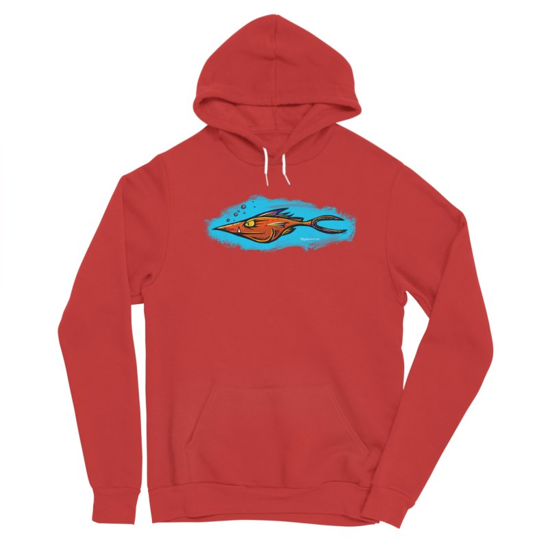 Devilish Fish Women's Pullover Hoody by Magichammer Art By Russ Fagle Shop