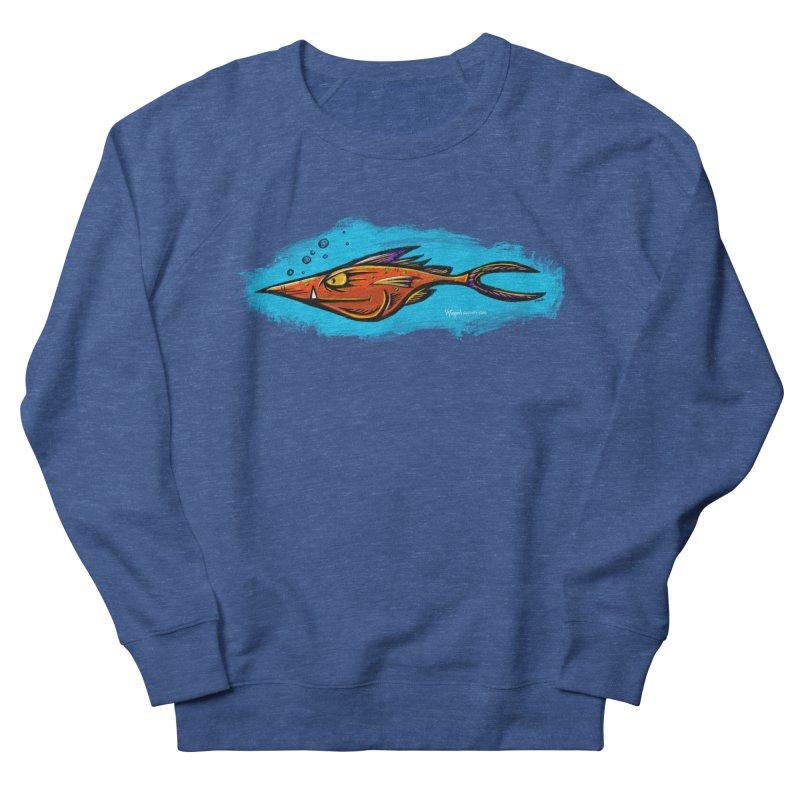 Devilish Fish Men's Sweatshirt by Magichammer Art By Russ Fagle Shop