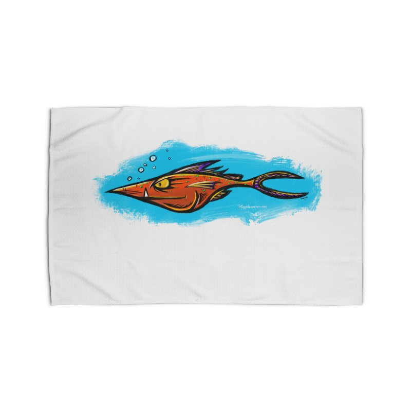 Devilish Fish Home Rug by Magichammer Art By Russ Fagle Shop