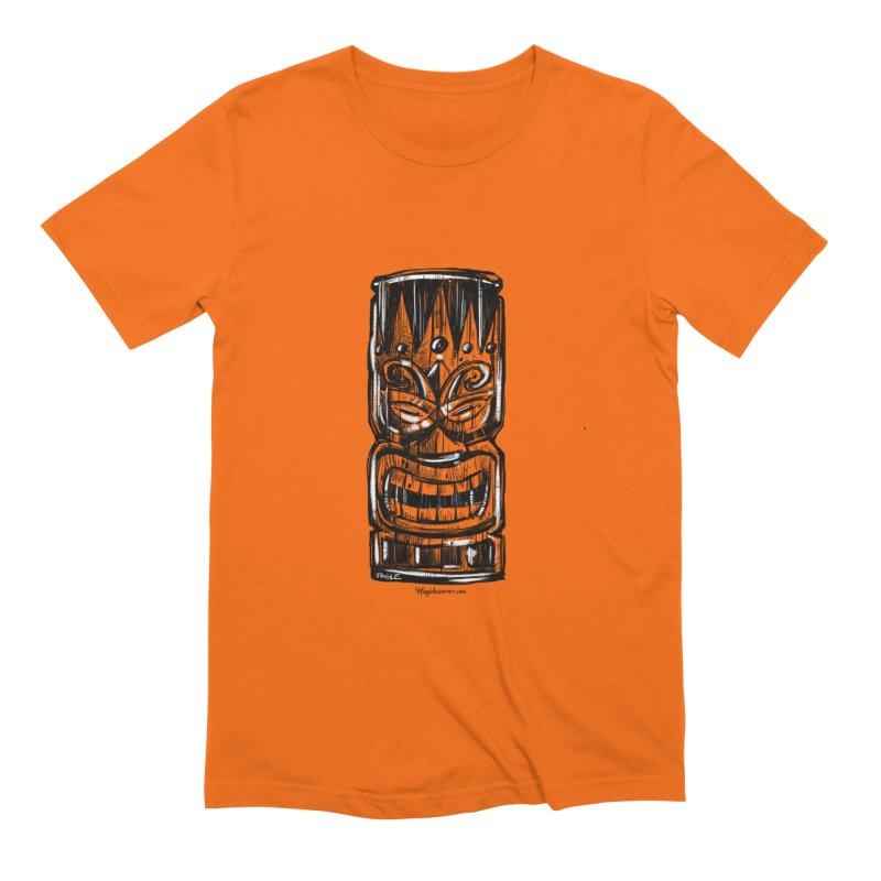 Tiki Men's T-Shirt by Magichammer Art By Russ Fagle Shop