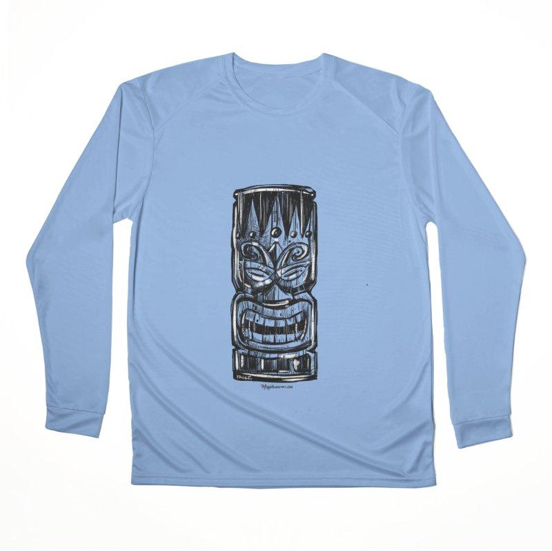 Tiki Men's Longsleeve T-Shirt by Magichammer Art By Russ Fagle Shop