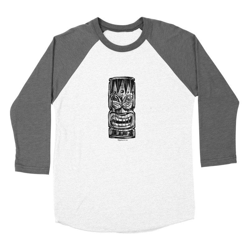 Tiki Women's Longsleeve T-Shirt by Magichammer Art By Russ Fagle Shop