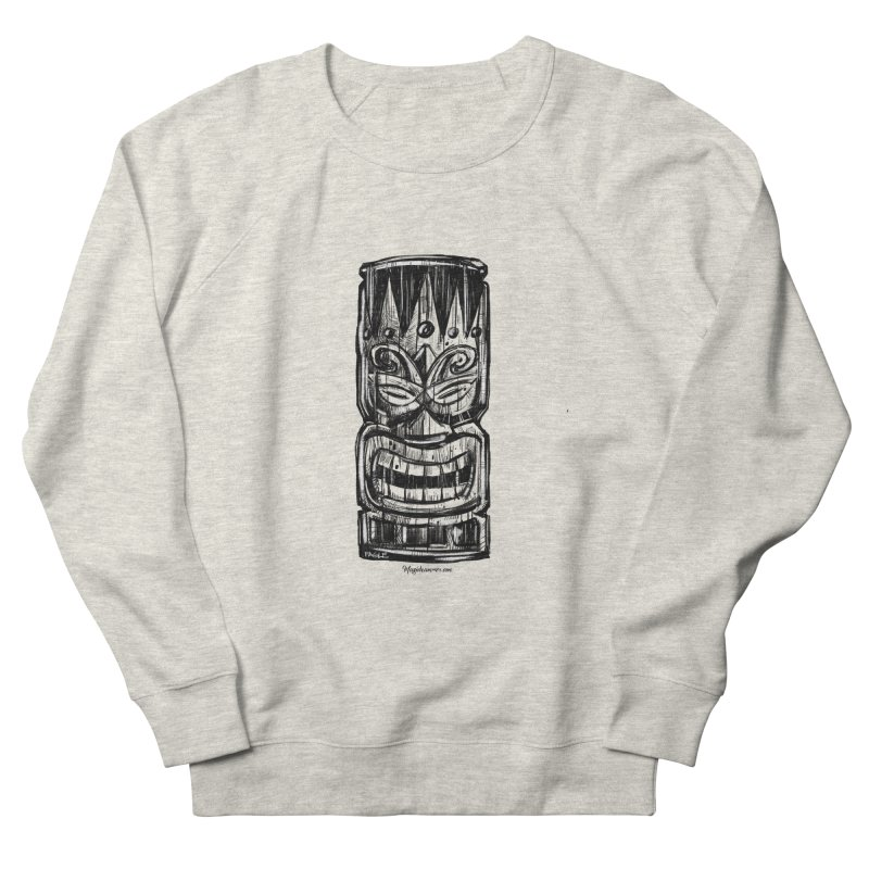 Tiki Men's Sweatshirt by Magichammer Art By Russ Fagle Shop