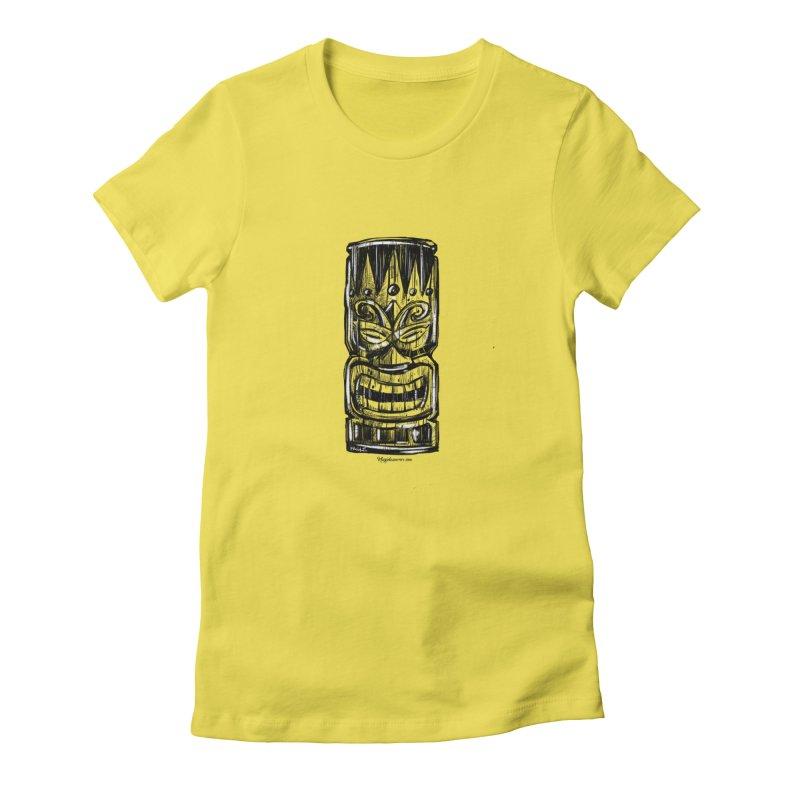 Tiki Women's T-Shirt by Magichammer Art By Russ Fagle Shop