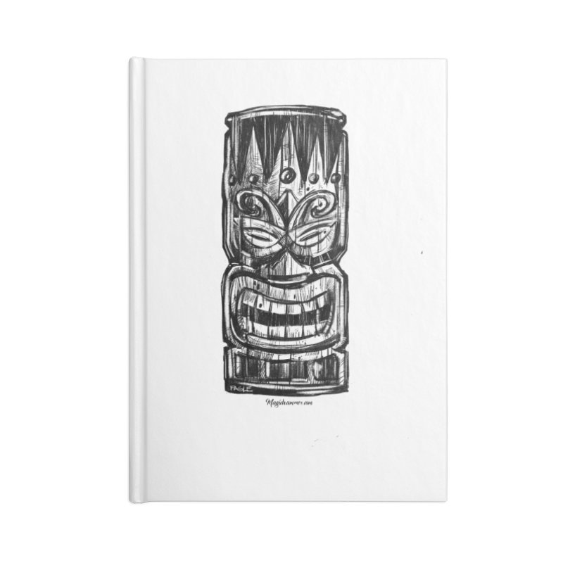 Tiki Accessories Notebook by Magichammer Art By Russ Fagle Shop